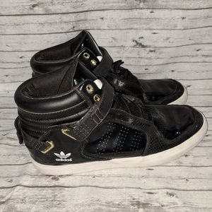 Adidas ADI-RISE mid G20711 black patent leather 12